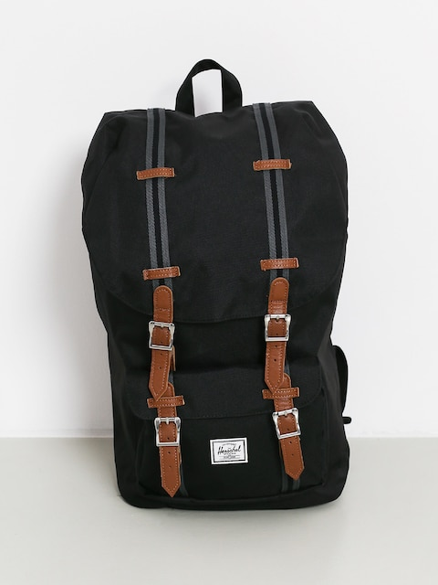 Herschel Supply Co. Little America Backpack (black/black/tan)