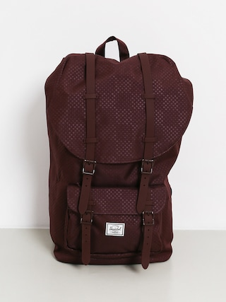 Herschel Supply Co. Little America Backpack (plum dot check)