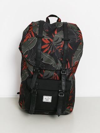 Herschel Supply Co. Little America Backpack (dark olive palm)