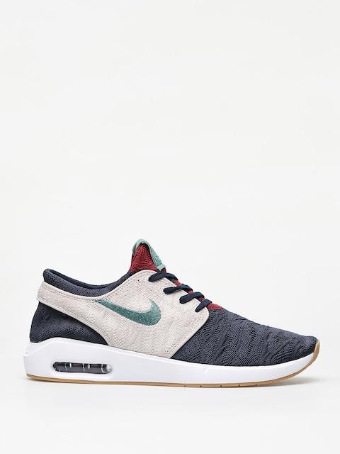 Nike SB Air Max Janoski 2 Shoes (obsidian/bicoastal desert sand)