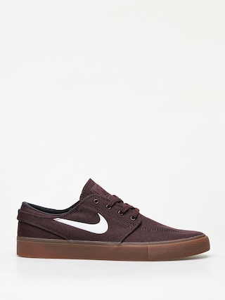 Nike SB Zoom Janoski Cnvs Rm Shoes (mahogany/white gum light brown)