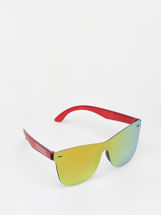 Diamante Wear Sunflower Sunglasses (red)