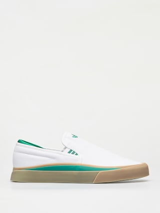 adidas Sabalo Slip Shoes (ftwr white/bold green/gum4)