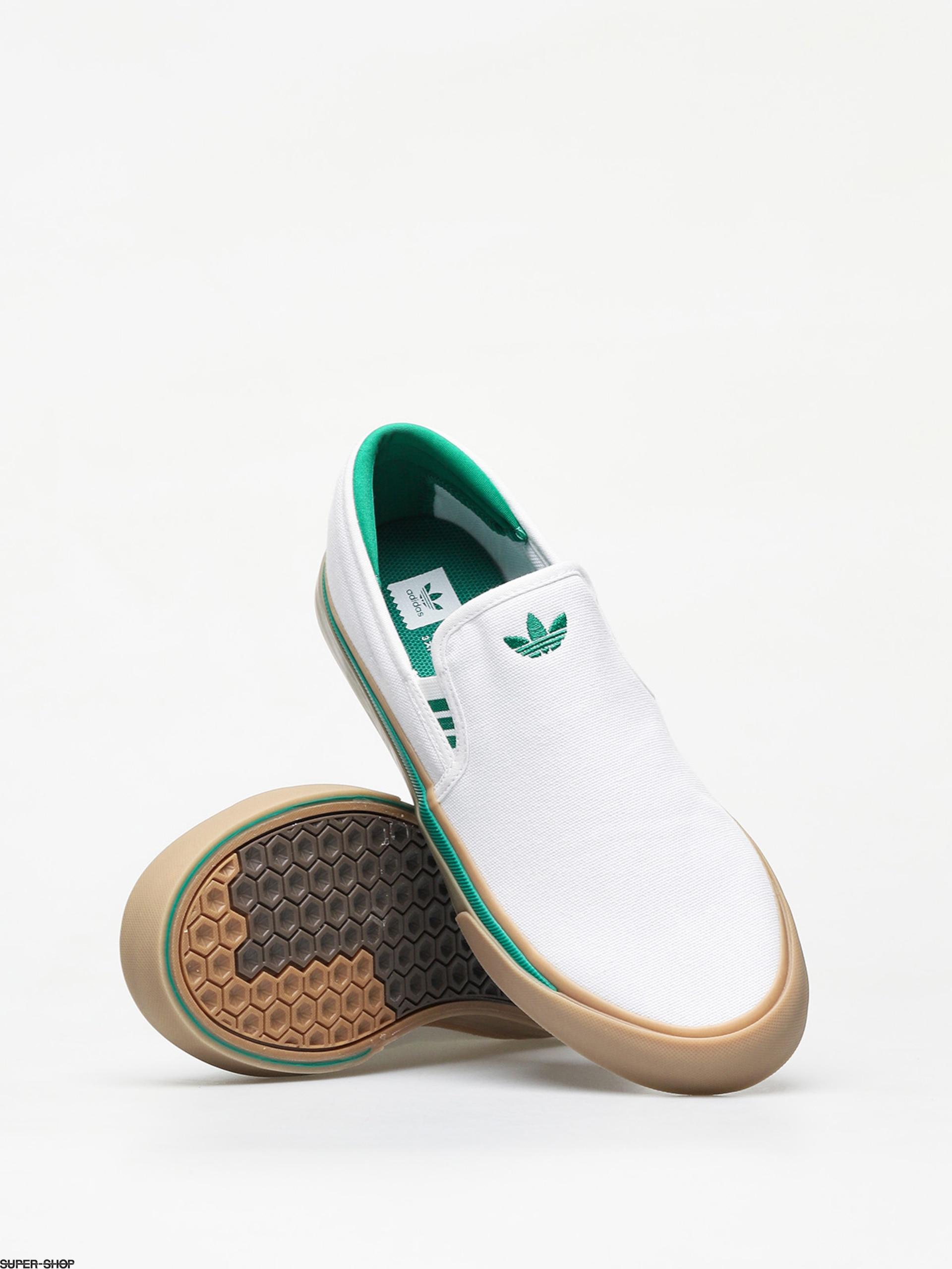 adidas Sabalo Slip Shoes (ftwr white