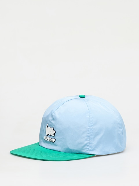 RipNDip Two Nerms Poly 5 Panel Rope Cap (blue/green)