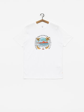 Quiksilver Breakfast Sets T-shirt (white)