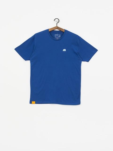 Enjoi Small Blue Panda Patch T-shirt (royal)