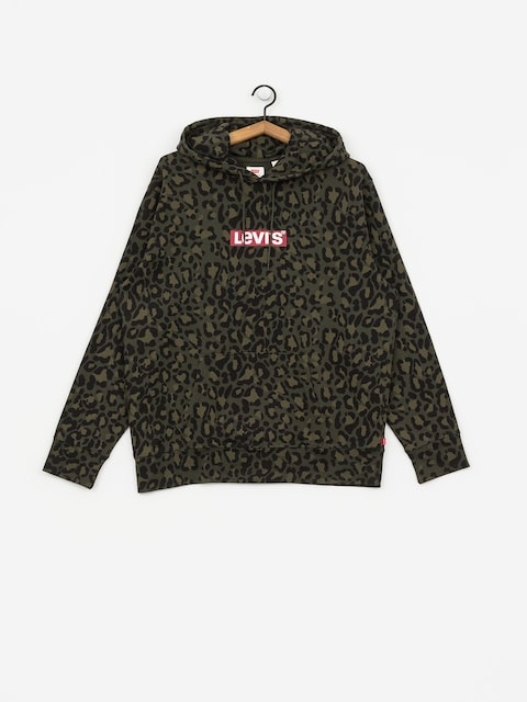 Levi's Graphic Box HD Hoodie (bubble cheetah/olive woods)