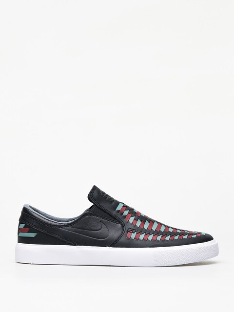 Nike SB Zoom Janoski Slip Rm Crafted Shoes (black/black bicoastal team red)