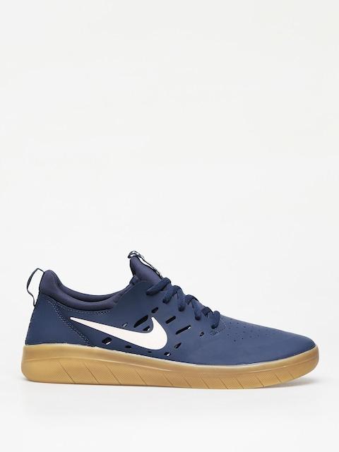 Nike SB Nyjah Free Shoes (midnight navy/summit white midnight navy)
