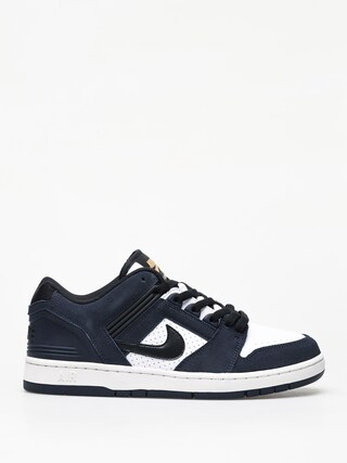 Nike SB Air Force II Low Shoes (obsidian/black white celestial gold)