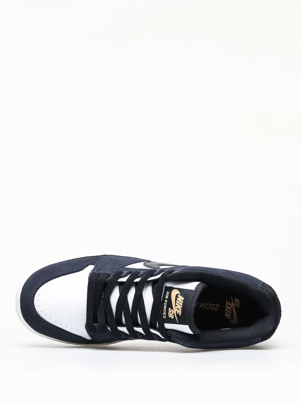 Nike SB Air Force II Low Shoes (obsidianblack white
