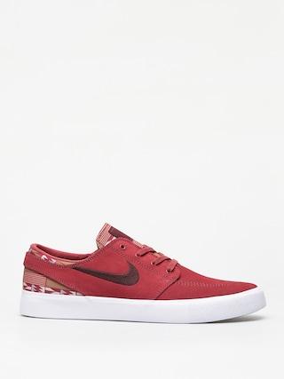 Nike SB Zoom Janoski Rm Prm Shoes (cedar/mahogany multi color white)