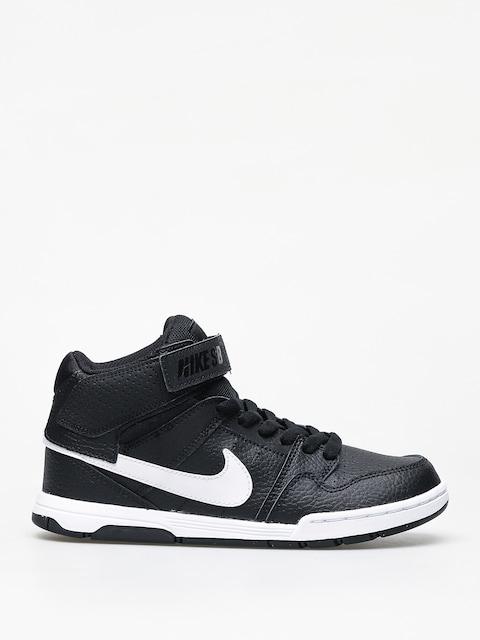 Nike SB Mogan Mid 2 Jr Gs Shoes (black/white)