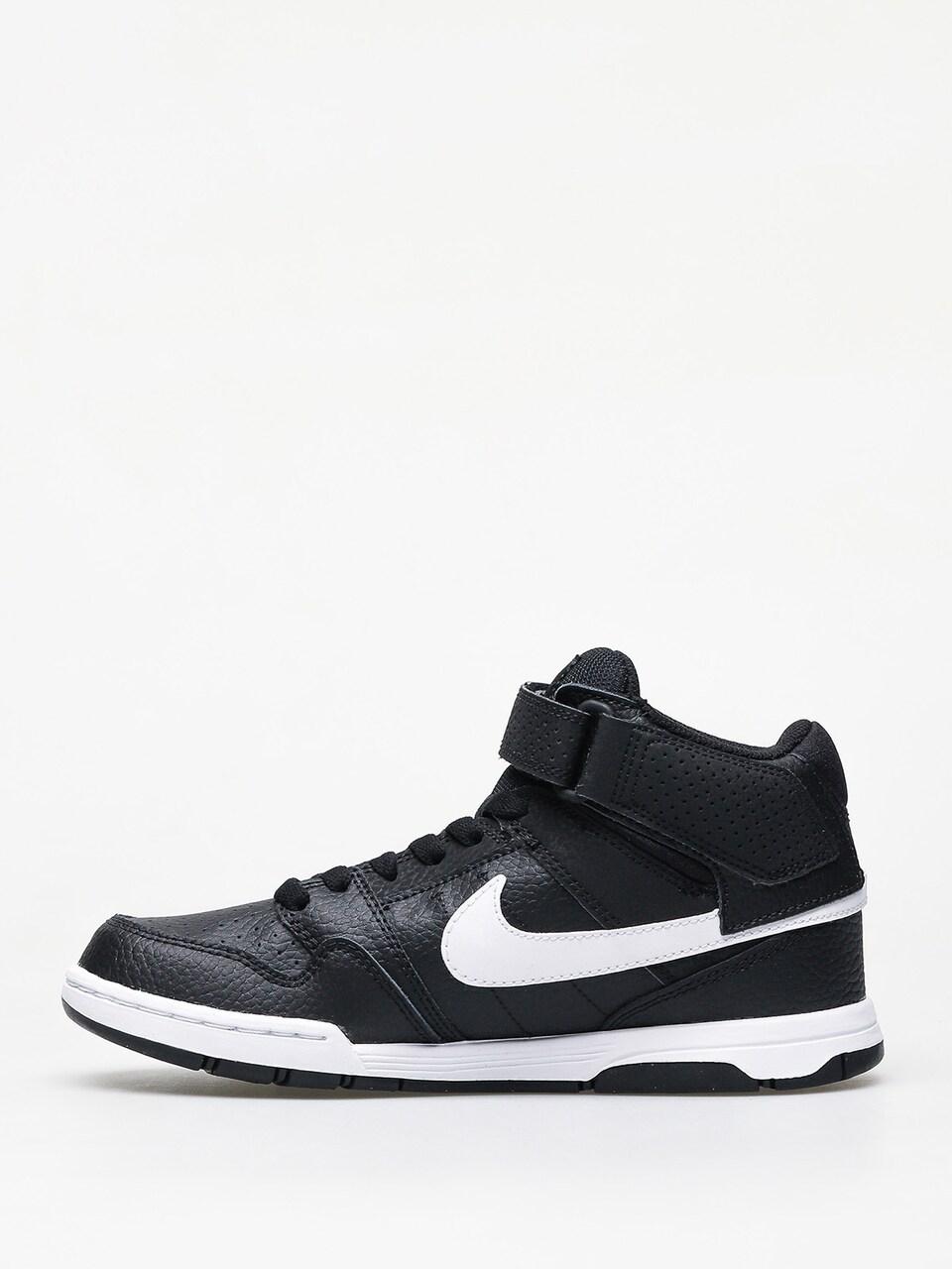 Oscuro Oral Adjunto archivo  Nike SB Mogan Mid 2 Jr Gs Shoes (black/white)
