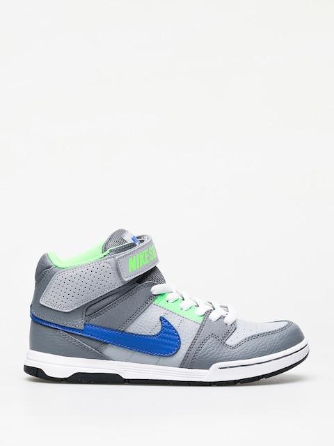 Nike SB Mogan Mid 2 Jr Gs Shoes (wolf grey/game royal)