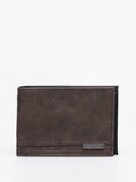 Quiksilver Stitchy Vi Wallet (chocolate brown)