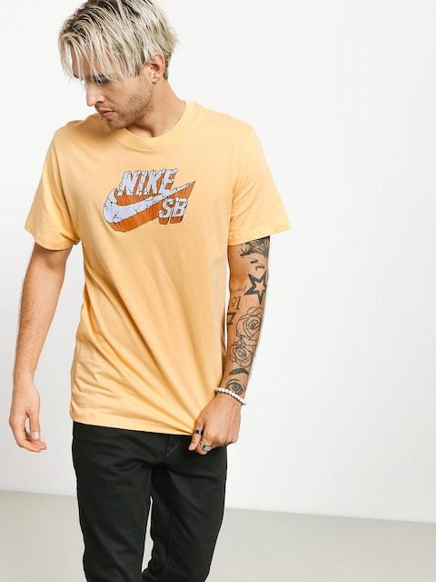 Nike SB Logo Concrete T-shirt (celestial gold)