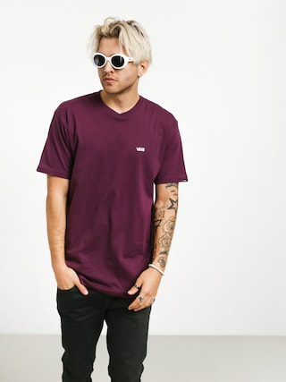 Vans Left Chest Logo T-shirt (prune)