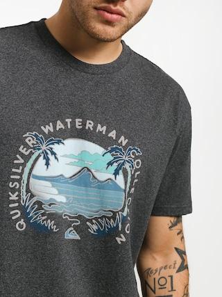 Quiksilver Breakfast Sets T-shirt (charcoal heather)