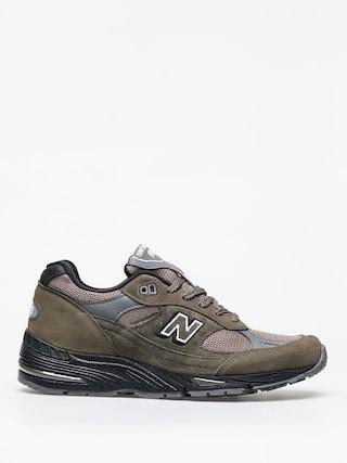 New Balance 991 Shoes (khaki)