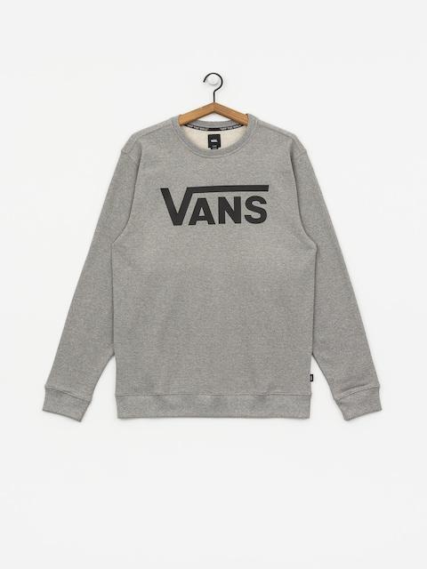 Vans Classic Sweatshirt (cement heather/black)