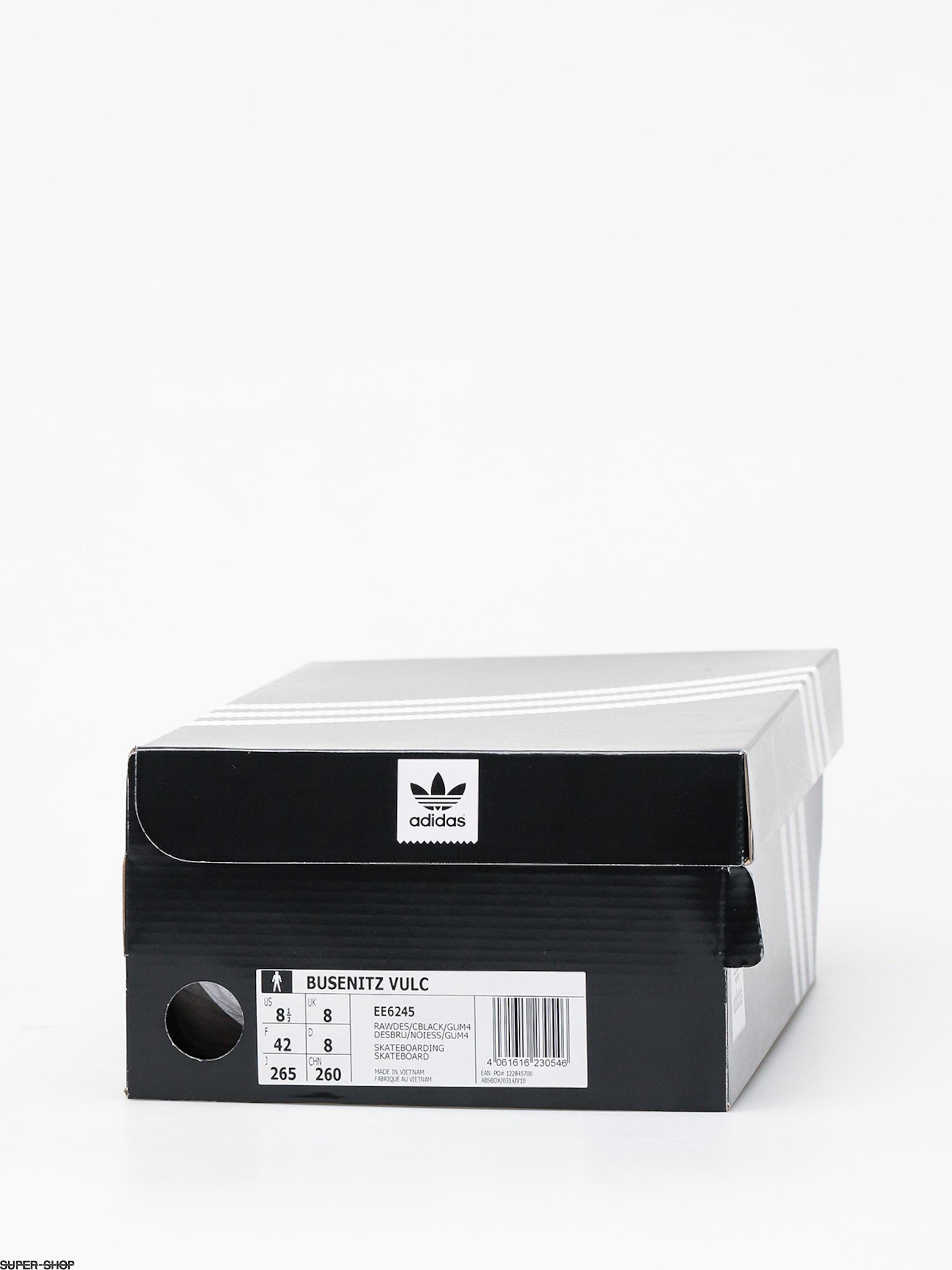 adidas Busenitz Vulc Shoes (raw desertcore blackgum4)