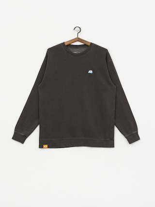 Enjoi Small Blue Panda Patch Sweatshirt (pigment black)
