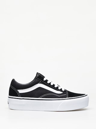 Vans Old Skool Platform Shoes (black/white)