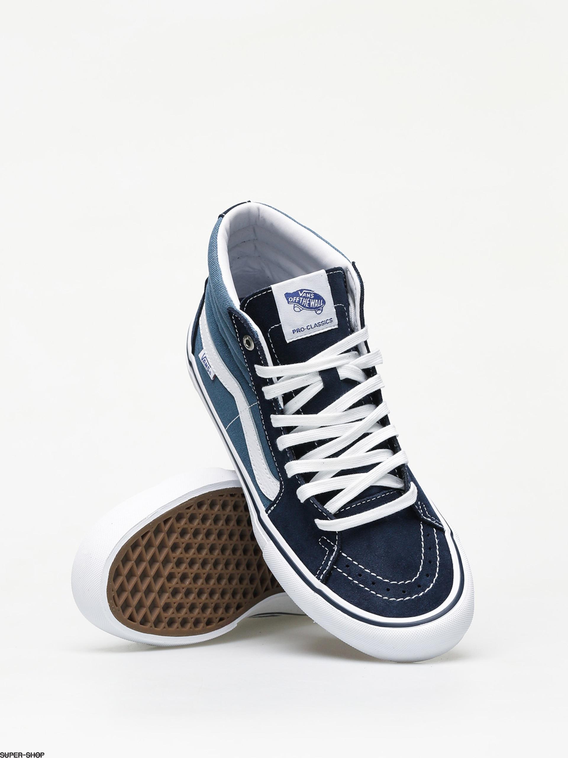 Vans Sk8 Hi Pro Shoes (navy/stv navy)