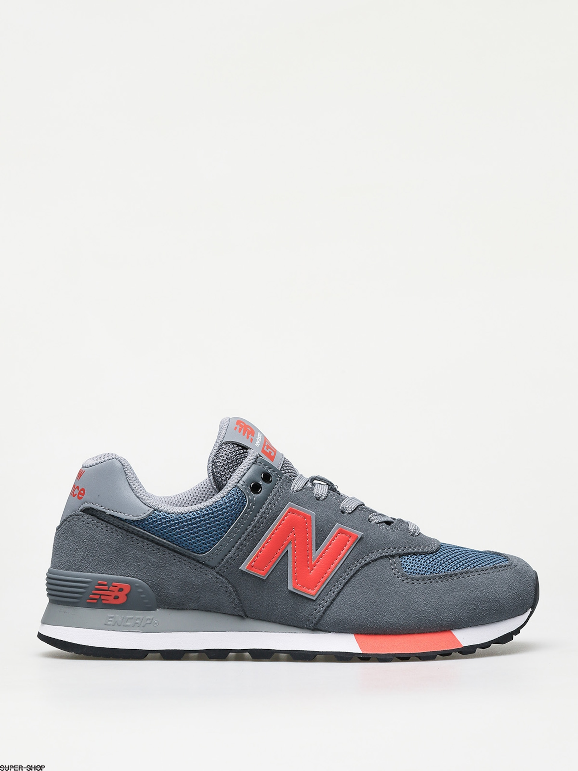 New Balance 574 Shoes (grey/blue)