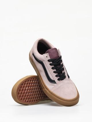 Vans Old Skool Shoes (gum/shadow gray/prune)
