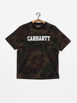0fc8966b Carhartt WIP College T-shirt (camo evergreen/white) ...