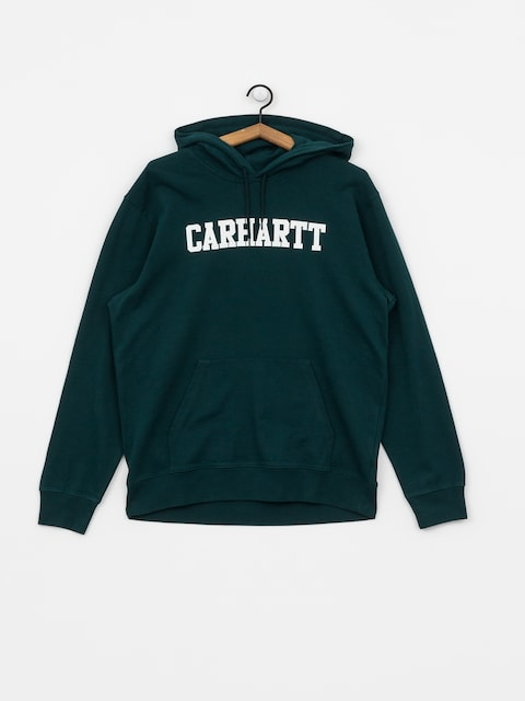 Carhartt WIP College HD Hoodie (dark fir/white)