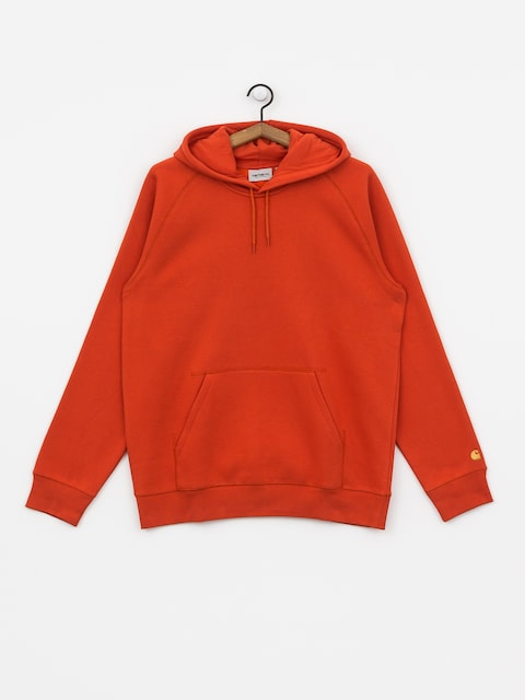 Carhartt WIP Chase HD Hoodie (brick orange/gold)