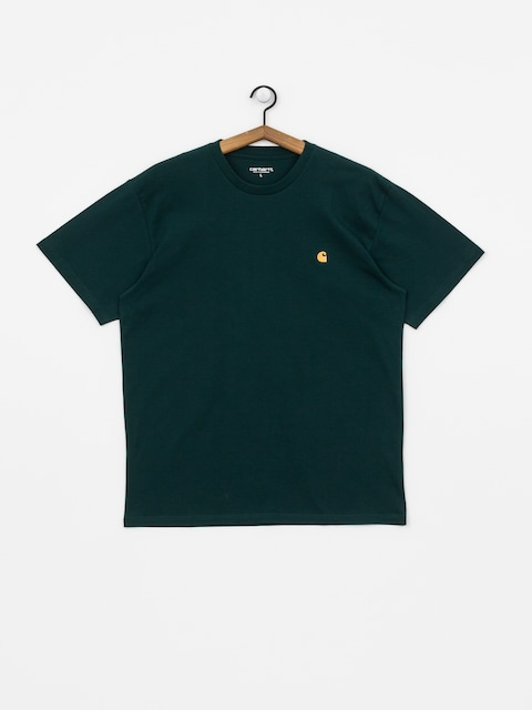 Carhartt WIP Chase T-shirt (dark fir/gold)