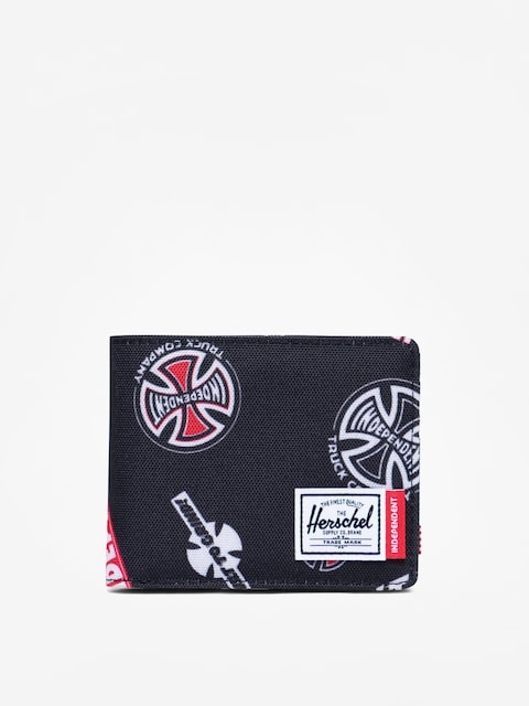 Herschel Supply Co. Independent Roy Wallet (black multi independent logo)