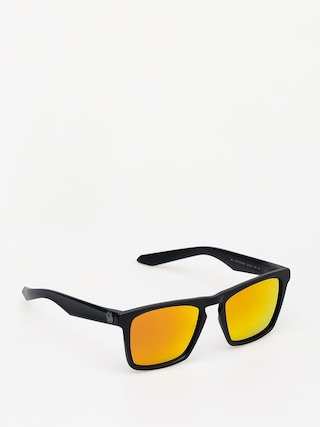 Dragon Drac Sunglasses (matte black/orange ion)