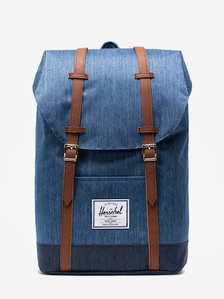 Herschel Supply Co. Retreat Backpack (faded denim/indigo denim)