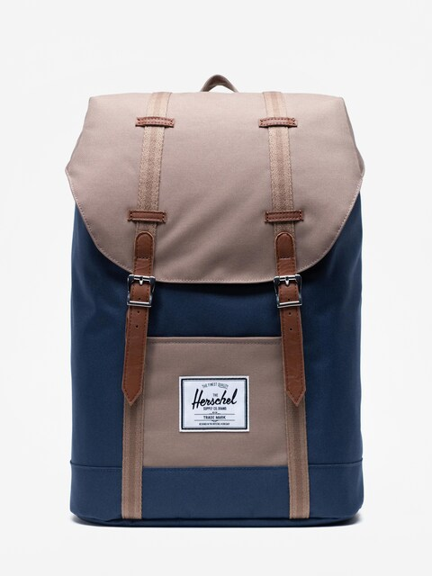 Herschel Supply Co. Retreat Backpack (navy/pine bark/tan)
