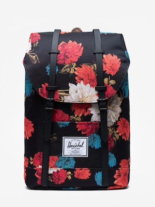 Herschel Supply Co. Retreat Backpack (vintage floral black)