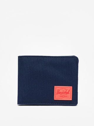 Herschel Supply Co. Roy Rfid Wallet (peacoat/hot coral)