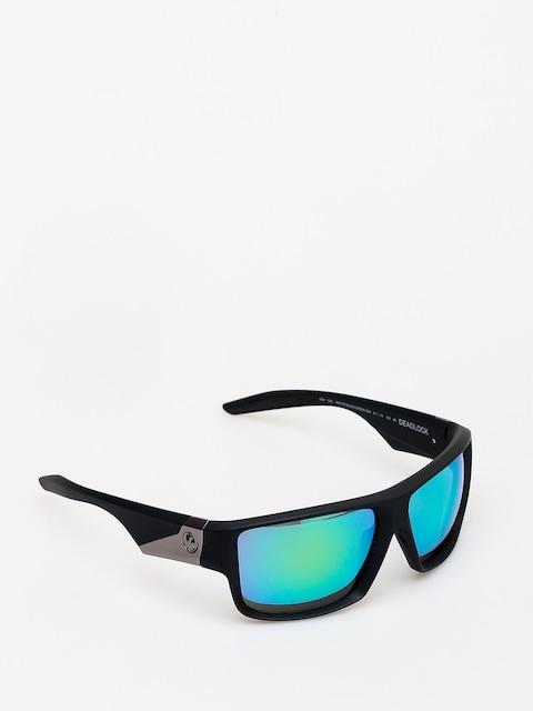 Dragon Deadlock Sunglasses (matte black/green ion)