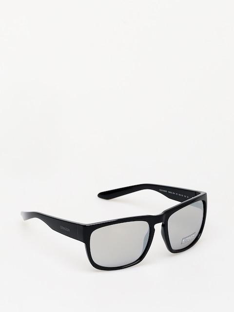 Dragon Rune XL Sunglasses (shiny black/silver ion)