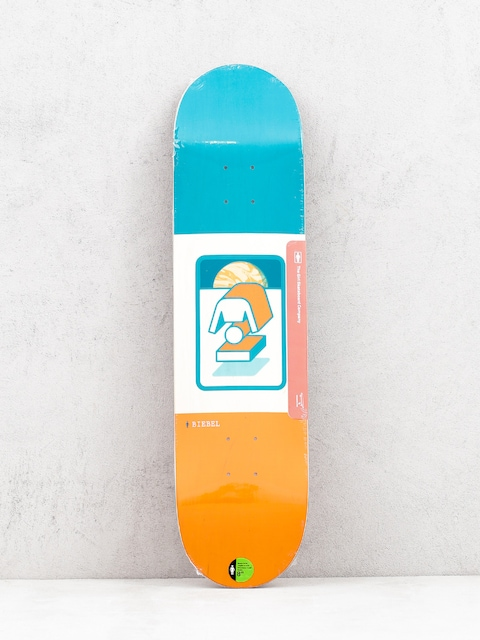 Girl Skateboard Biebel The Totem Deck (orange/teal)