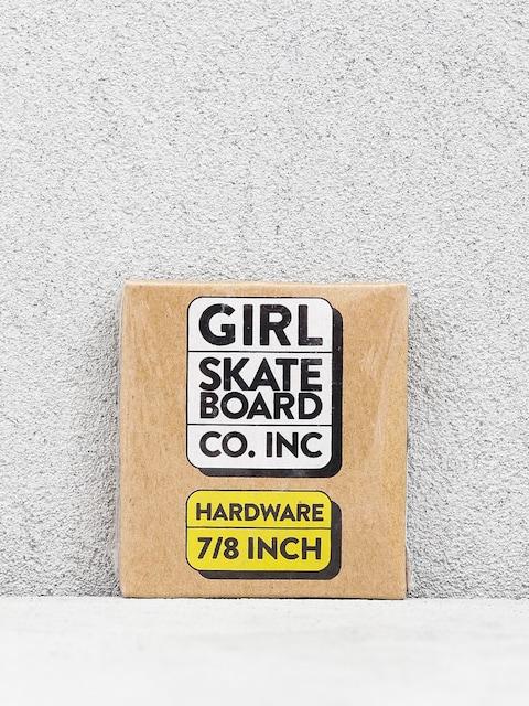 Girl Skateboard Imbus Bolts (black/silver)
