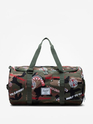 Herschel Supply Co. Independent Sutton Bag (woodland camo multi independent logo/cypress)