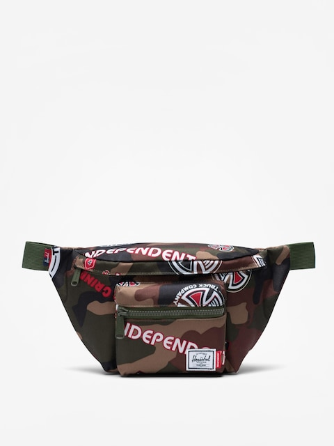 Herschel Supply Co. Independent Seventeen Bum bag (woodland camo multi independent logo/cypress)
