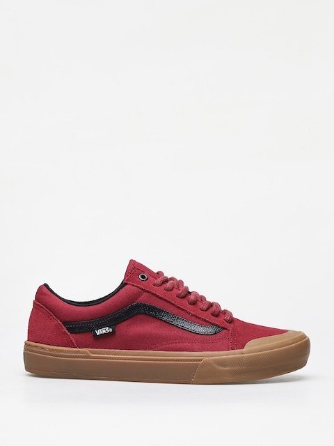 Vans Old Skool Pro Bmx Shoes (ty morrow/biking red/gum)