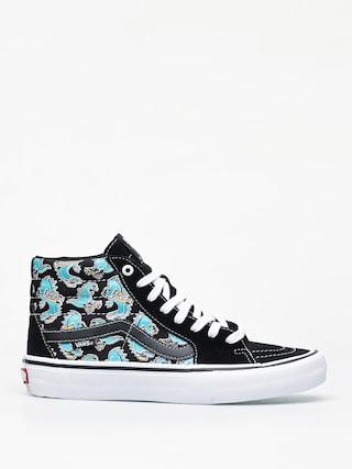 Vans Sk8 Hi Pro Shoes (vanosaur/black)